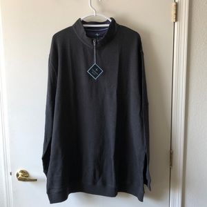 Tailorbyrd Waffle Quarter Zip pullover size 4X NWT